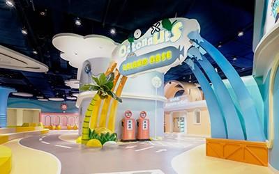 儿童乐园美陈设计制作