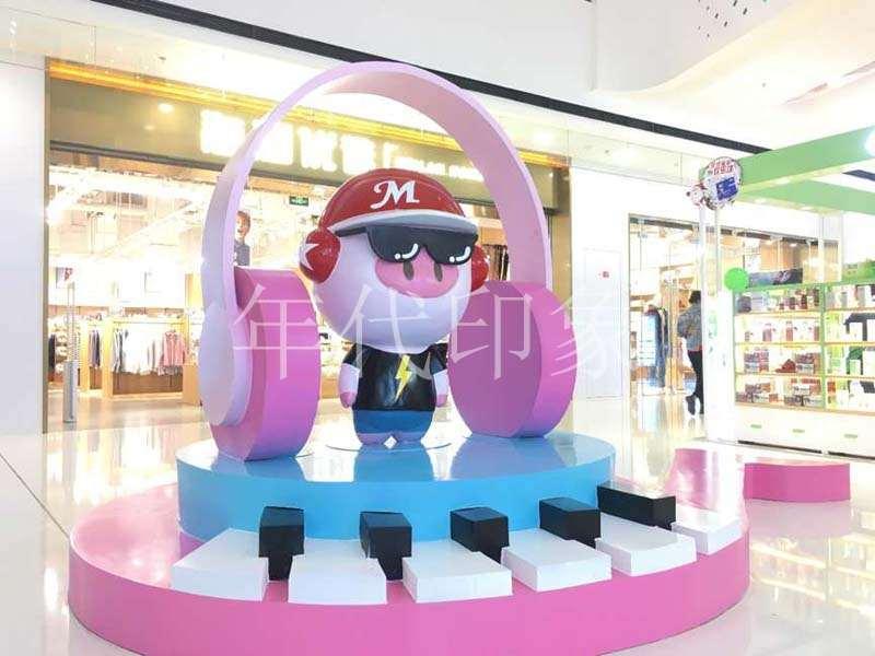武汉汉街万达广场圣诞DP点商业美陈