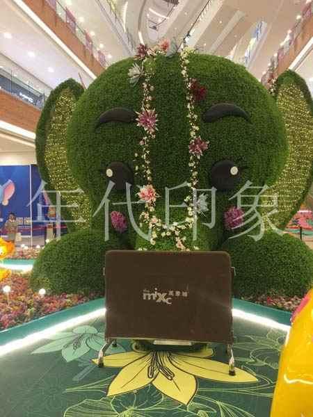 大象主题商业购物广场美陈