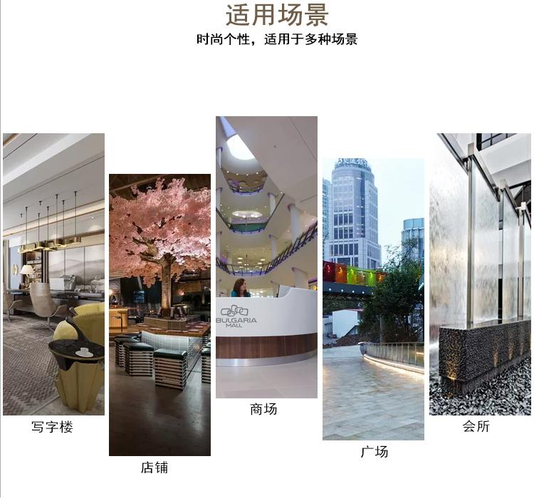 玻璃钢商场美陈座椅创意组合花盆公共休息椅子商业街广场景观坐凳