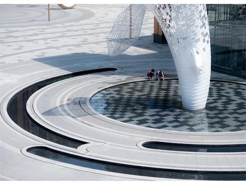 镂空不锈钢鲸鱼雕塑商业街广场大型不锈钢雕塑定制