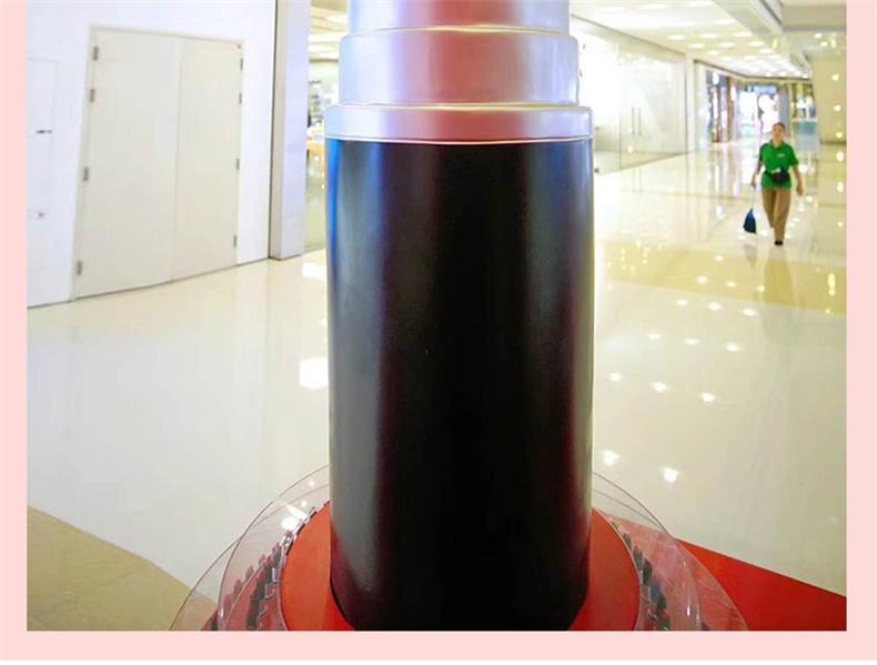 大型玻璃钢口红唇膏造型道具摆件