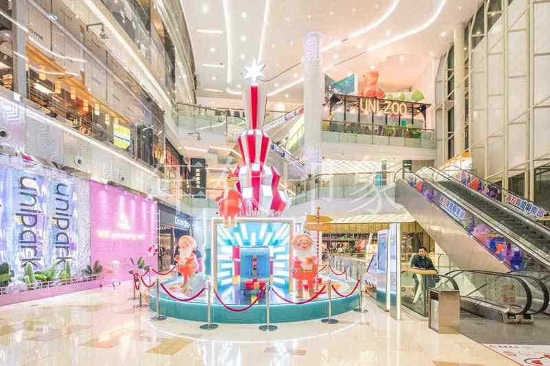 南京中海环宇城商业购物广场美陈