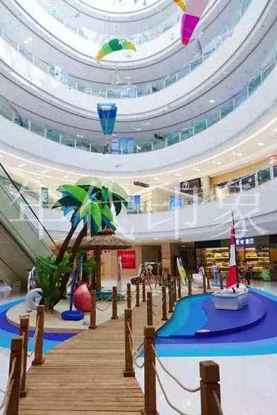 泸州万象汇商业购物广场美陈
