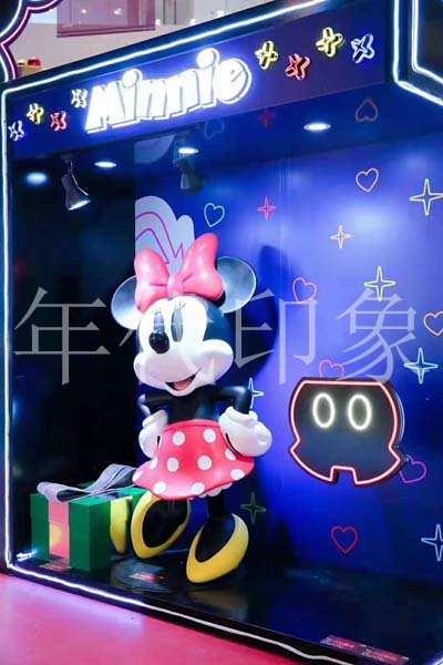 老鼠新年主题商业主题美陈