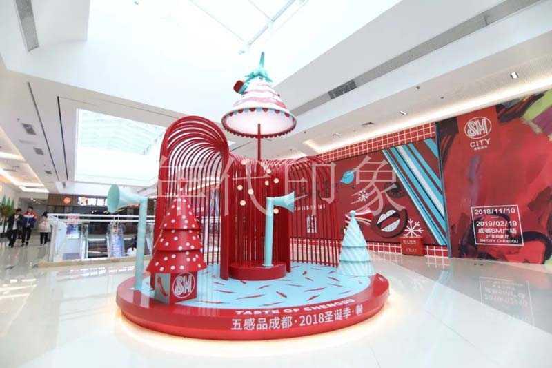 成都SM商业购物广场美陈