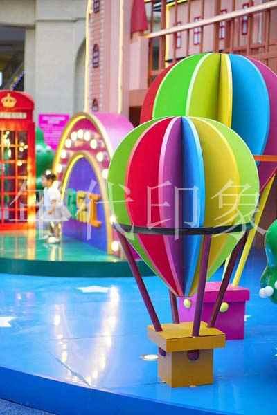 泸州佳乐世纪城欢乐汇商业广场美陈