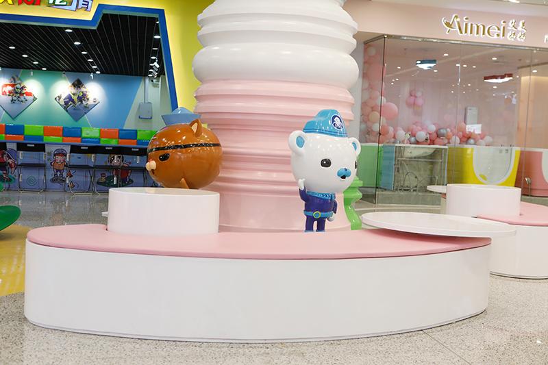 镇江万达广场商场美陈制作