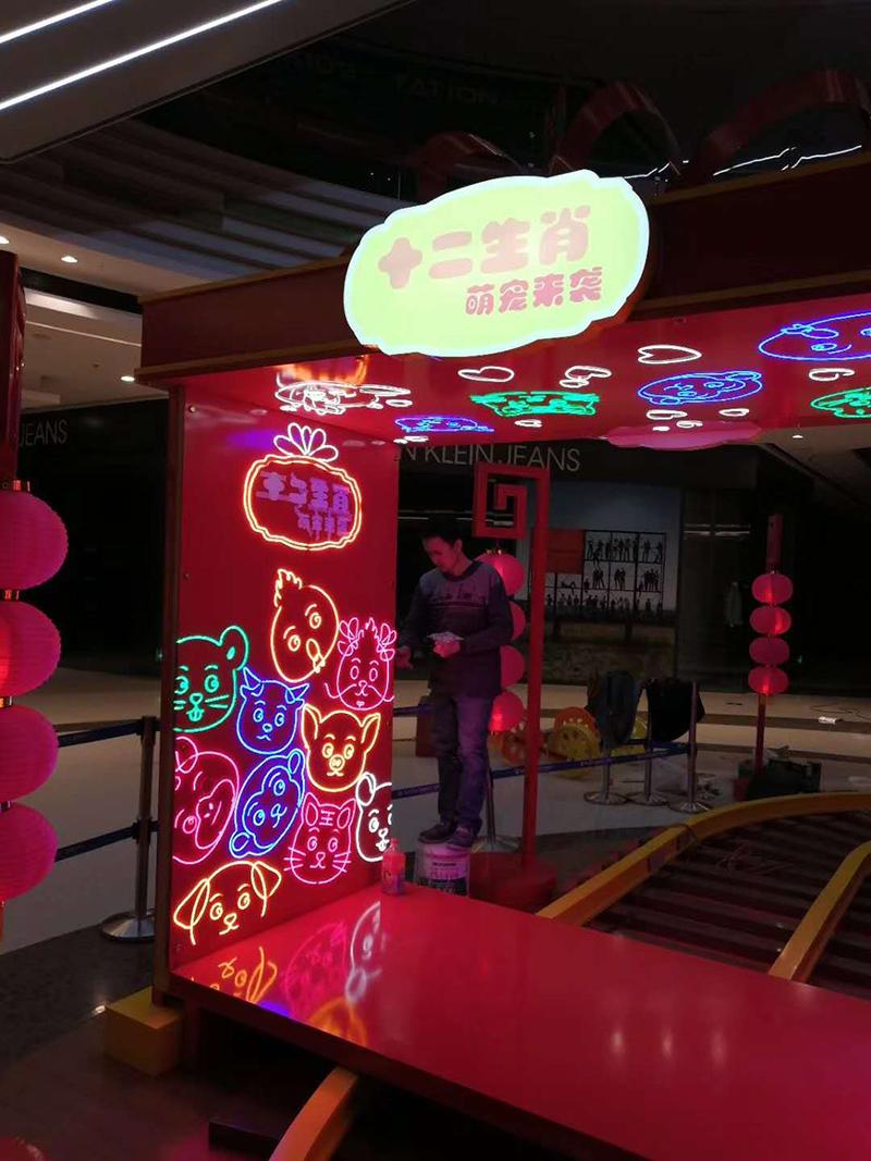 新疆汇嘉时代购物中心商业广场美陈