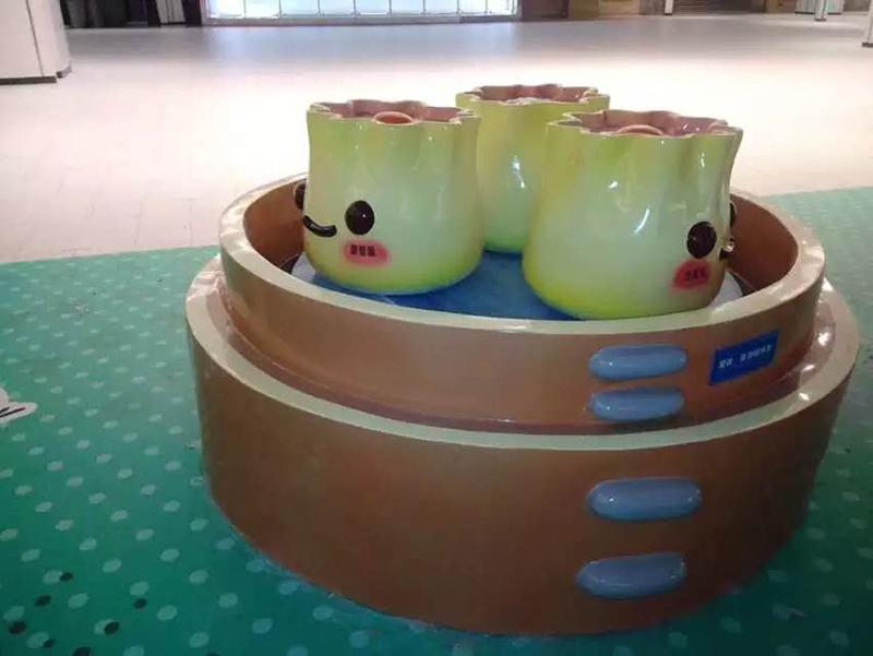 POPARK餐饮儿童乐园学校美陈DP点